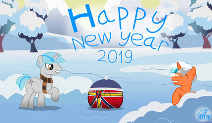 Happy New Year 2019 by TemerDzafarowo
