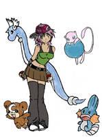 Pokemon Trainer by BlackRose-of-Death