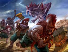 Troll Slayer Warhammer by masterchomic