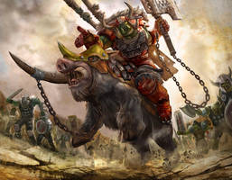 Iron Claw Horde Warhammer by masterchomic
