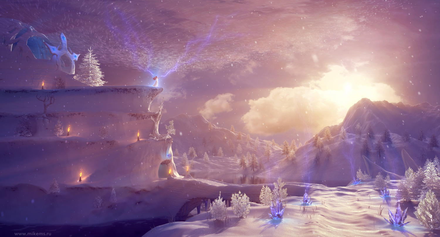 Snow Queen Realm by MikeMS