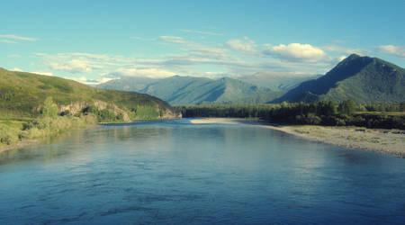 Katun River by MikeMS