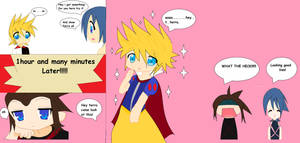 Ven trys on a dress comic by Armonsterz