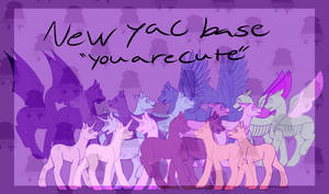 MLP Base: You Are Cute (New Version, READ DESC.) by KimyoWolf