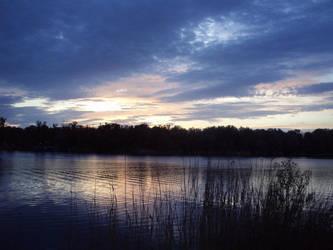 magic purple river by Vollmond24