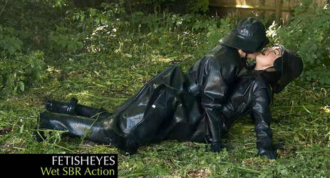 Fetisheyes 'Wet SBR Action' Video by alikatuk