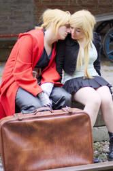 Winry and Ed by Slumflower