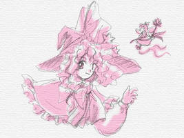 Marisa with Fairy by noriro