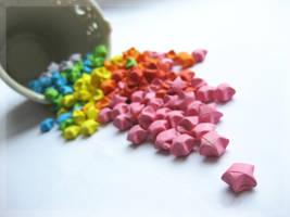 Origami Stars by Zhoira