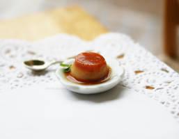 Custard Pudding by Zhoira