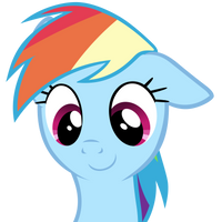 cute Rainbow Dash by BaumkuchenPony