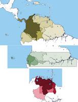 Colombian, Ecuadorian and Venezuelan Irredentism by DinoSpain