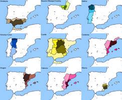 Intra-Spanish Irredentism by DinoSpain
