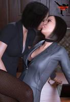 Sara Seduces Sadie 02 by Kungfueric