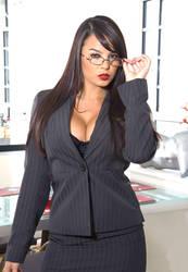 Secretary Sasha 01 by Kungfueric