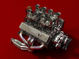 Chevrolet small block by hermanform