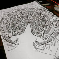 Mandala art by Vidusha