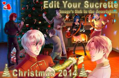CDM Christmas 2014 - Edit Your Sucrette by HelenMegury