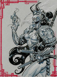 SamurayGirl by Chuckdee