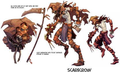 Scarecrow concept by Chuckdee