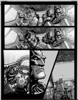 Arkham.1 promo-comic pg -02 by Chuckdee