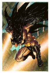 Arkham City.1.cover.color by Chuckdee