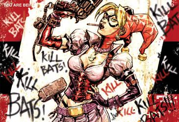 Harley Quinn 'billboard' image by Chuckdee