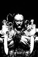 Deathblow.cvr.8.BnW by Chuckdee