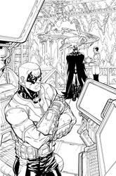 ArkhamCity.5.2.BnW by Chuckdee