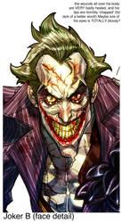 Joker ArkhamCity by Chuckdee