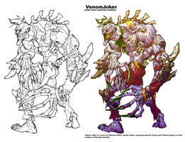 Titan Joker ArkhamAsylum by Chuckdee