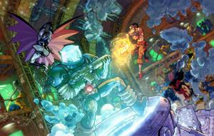 DCO.MMO.Arkham escape keyscene by Chuckdee