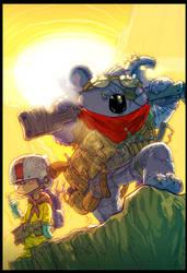 Murderin'Koala colors by Chuckdee