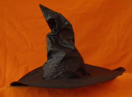 Hat of ... black.. by chop-stock