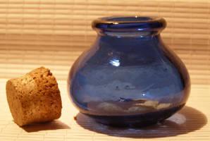 Lil' blue bottle 3.... by chop-stock