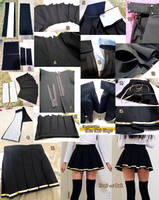 Sword Art Online Silica Skirt Progress by LiJianliang