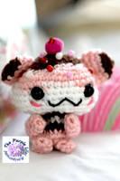 Kawaii Hamster Cupcake by ThePurpleLilac