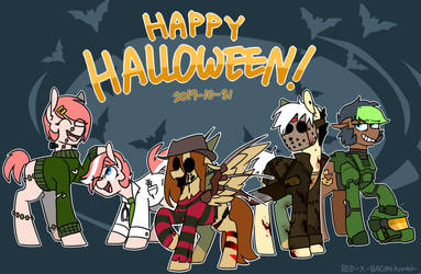 Happy halloween! by red-x-bacon