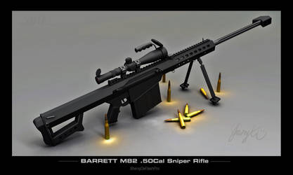 Barrett M82 Sniper Rifle by ShengDaFlashPRo