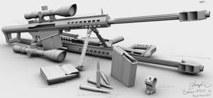 Barrett M107 WIP5 by ShengDaFlashPRo