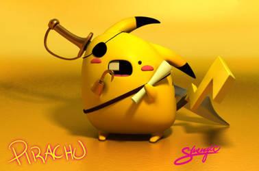 Pirate Wonkchu by ShengDaFlashPRo