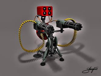 lvl3 Sentry Gun by ShengDaFlashPRo