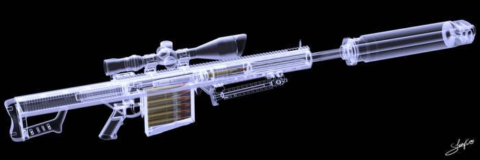 Barrett M107 WIP6 xray by ShengDaFlashPRo
