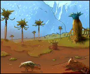 alien landscape 7 by homer1960
