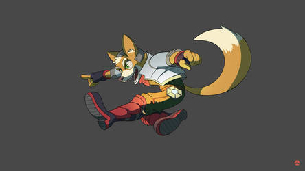 Fox McCloud by workofk