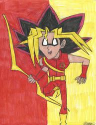 Yu-Gi-Oh! Teen Titans - Mutou Yuugi - Speedy! by MutouYuugiAiboufan