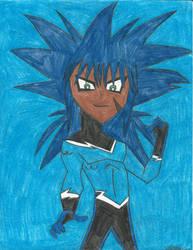 Yu-Gi-Oh! Teen Titans - Ryota Kajiki - Aqualad! by MutouYuugiAiboufan
