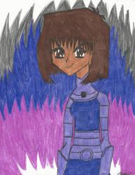 Yu-Gi-Oh! Teen Titans - Teana - Fireblack! by MutouYuugiAiboufan