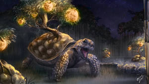 Bonsai Tortoise by LukeFitzsimons