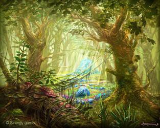 Fairy woods by bocho